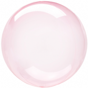 Dark Pink Crystal Clearz Balloons - Crystal Clearz Balloons- Free Delivery